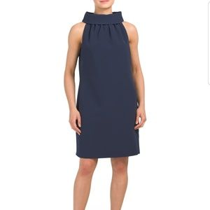 Sail to Sable navy button back dress size S
